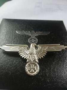 WWI-WW2-German-Cross-Eagle-Emblem-medal-badge-iron-cross-brooch-with-box