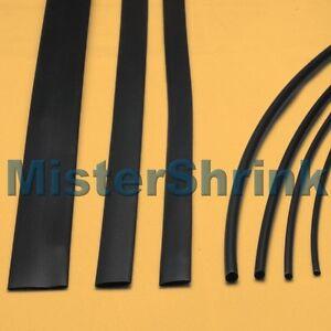 Heat-Shrink-Tubing-7-x-1m-Black-HeatShrink-Tube-Sleeve-Sleeving-Kit-Pack