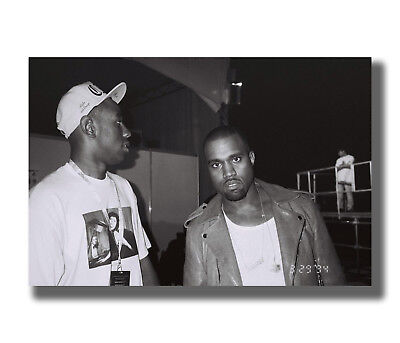 Tyler The Creator /& Kanye West Odd Future Star Fabric Poster Art TY64-24x36 In