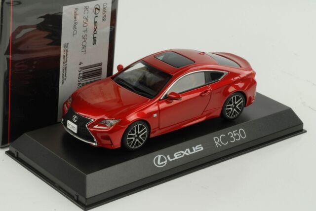 Kyosho Original Ks03657rr Lexus Rc350 F Sport Radiant Red 1 43 Scale