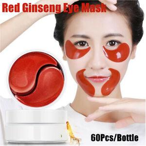 60X-Ginseng-Rosso-Contorno-Occhi-Maschera-Patch-Antirughe-Cerchio