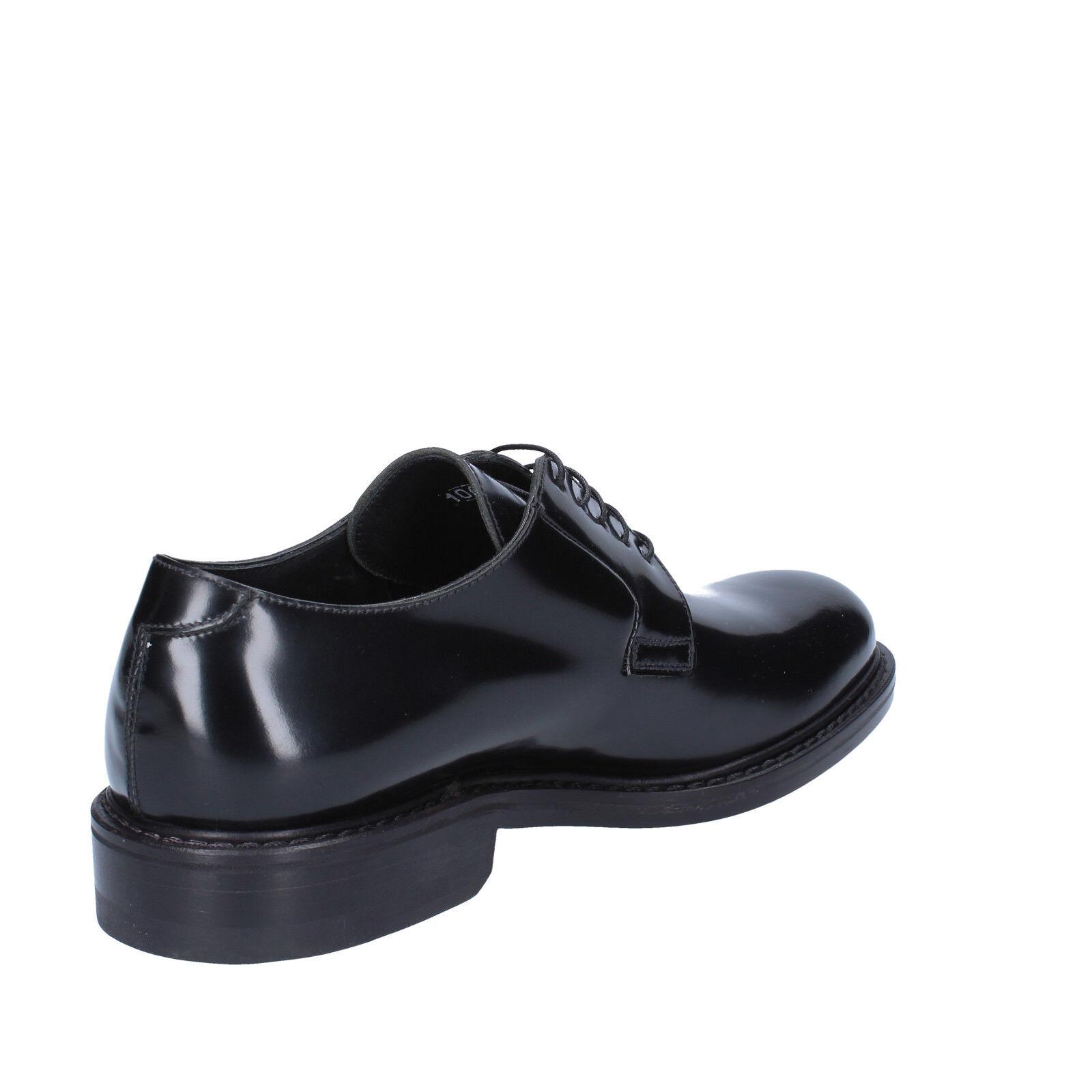 Scarpe da Uomo Di Mella 39 elegante nero lucida pelle pelle pelle bz46-b da7650