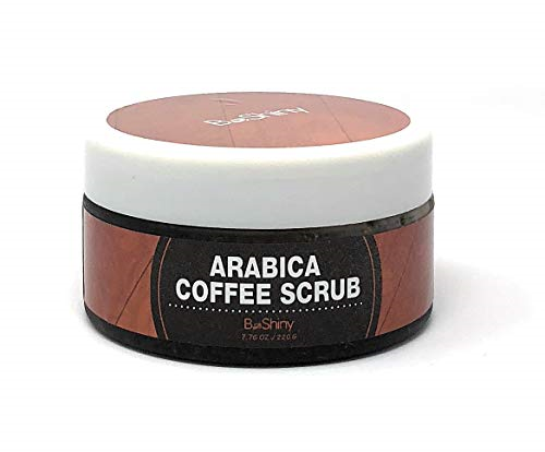 Exfoliating Arabica Coffee Scrub Best Skin Exfoliator For Face