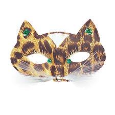 White Cat Domino Eye Mask Halloween Venetian Masquerade Ball Fancy Dress