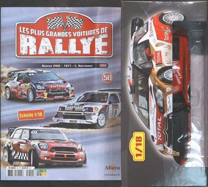 RALLYE 1 18 N°50 DATSUN 240Z 1971