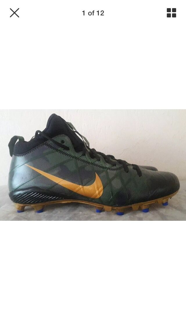 Nike Field General 3 Elite TD Football Cleats- -SZ-12.5 Camo & Gold- 833390-371 -SZ-12.5 Cleats- be0842