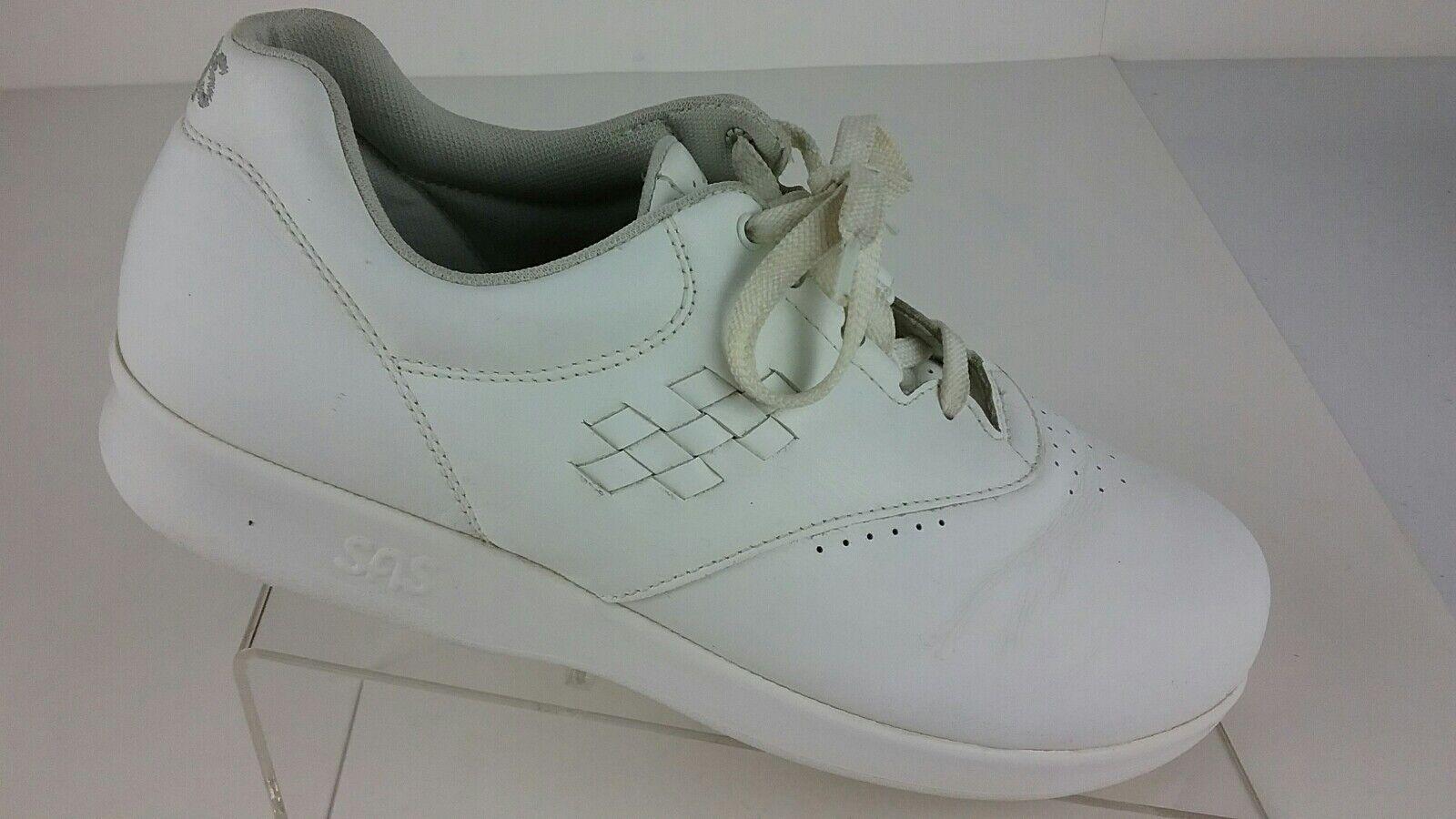 SAS Free Time Tripad Comfort Women's 8.5 M White Lace Up shoes R1- S 7
