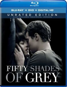 Fifty Shades of Grey [New Blu-ray] With DVD, UV/HD Digital Copy, 2 Pack, Digit
