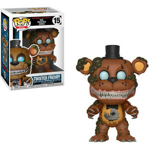 """Five Nights at Freddy's the Twisted Ones Twisted Freddy 3.75"""" Pop! Vinyl Figure"""