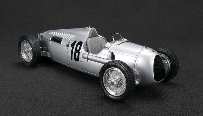 M-161 Auto Union Type C nr 18 rosa Mayer Eiffel Corse Lim 1936 1500, 1 18 CMC