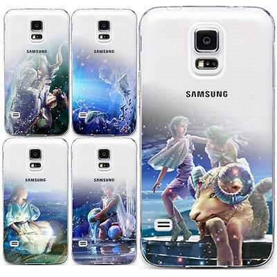 Cartoon Pattern Soft Skin TPU Case Cover For Samsung Galaxy S4 S5 S6 Edge Note 5