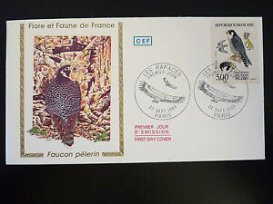 France Premier Jour Fdc Yvert 2340 Les Rapaces 5f Paris 1984