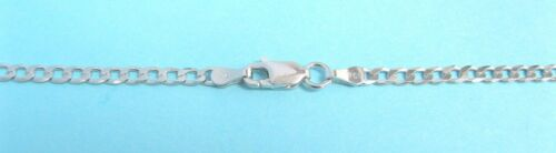 """Sterling Silver Large Jumbo Mens Italian Horn Charm Necklace Good Luck 2/"""""""