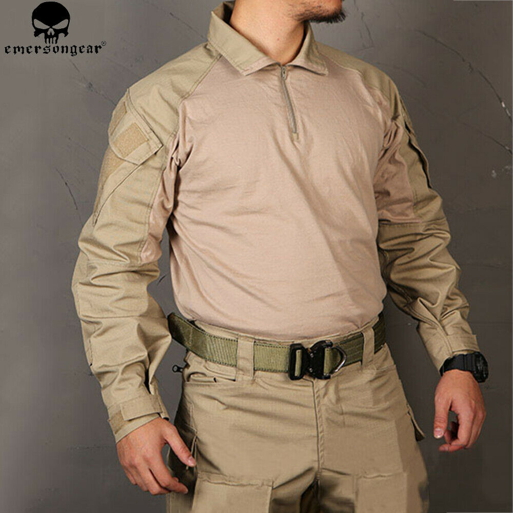 Emerson BDU  G3 Combat Shirt Tactical Clothing Military Tops Assault  Long Sleeve  discounts and more