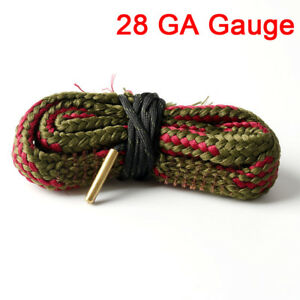 Bore-Snake-Cleaning-28-GA-Gauge-Caliber-Boresnake-Barrel-Brass-Cleaner