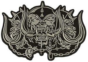 Rückenaufnäher Patch Dorsale Wappen Rücken Große Größe Motörhead Biker Groß
