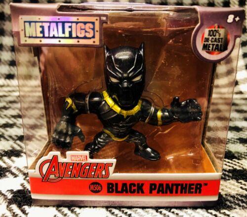 "JADA METALFIGS 2.5/"" MARVEL AVENGERS BLACK PANTHER"