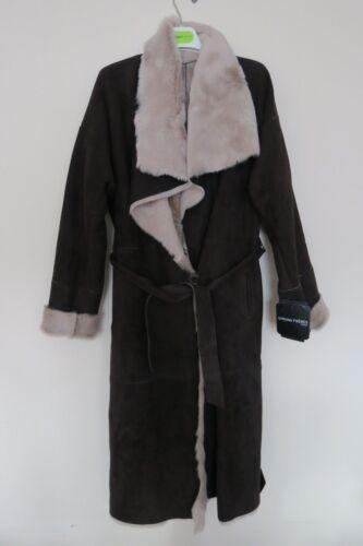 Lambskin 100 Shearling Freres Coat Brown Xs Sprung Taglia wqpStB