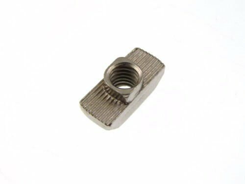 Drop In T-Nut M6 Thread For T-slot aluminum extrusion 4040 Pack of 20