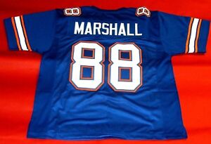 purchase cheap 87d2c f5878 Details about WILBUR MARSHALL CUSTOM FLORIDA GATORS JERSEY UF