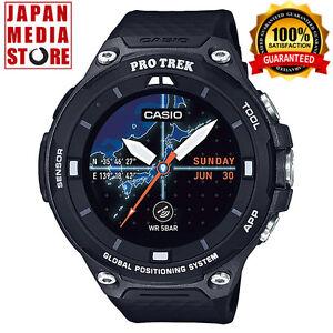 De Aire Al Casio F20 Japón Detalles Bk Trek Inteligente Original Ver Pro Reloj Libre Android Wear Gps Título Wsd CsthQrdx