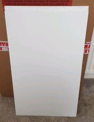 CoöPeratieve High Gloss Lucente Handless Door White 895 X 496 New