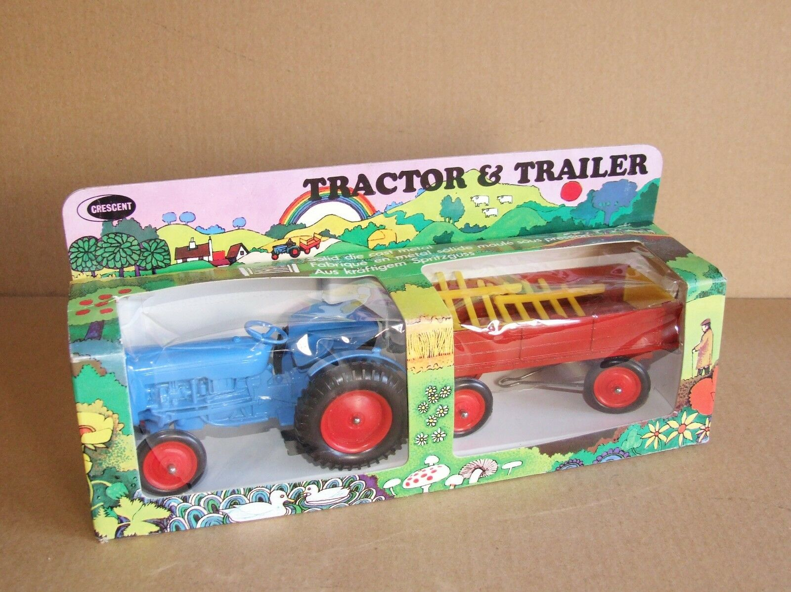 Crescent 1811 Ford Dexta Tractor & Trailer Set - Very RARE       B