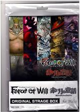 OFFICIAL STORAGE BOX SCATOLA PORTA CARTE Force of Will Fow (fino a 400 Carte)