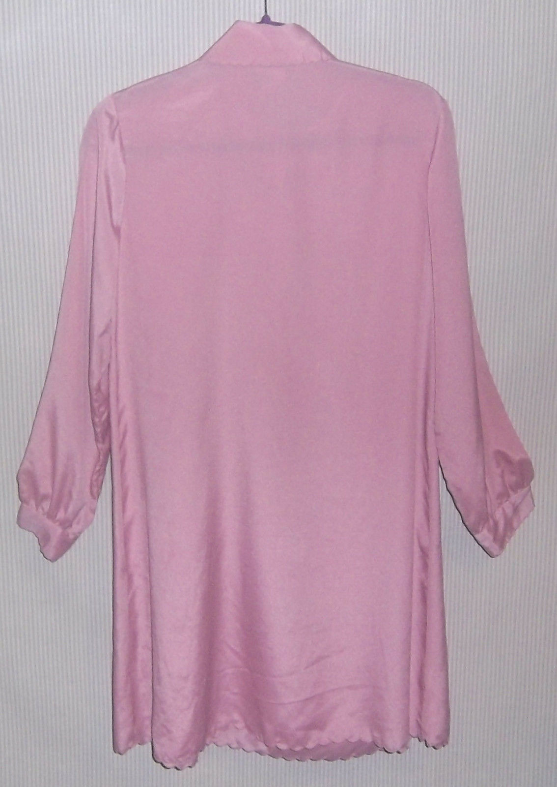 Vintage 1980's Christian Dior Size S Lilac Night … - image 3