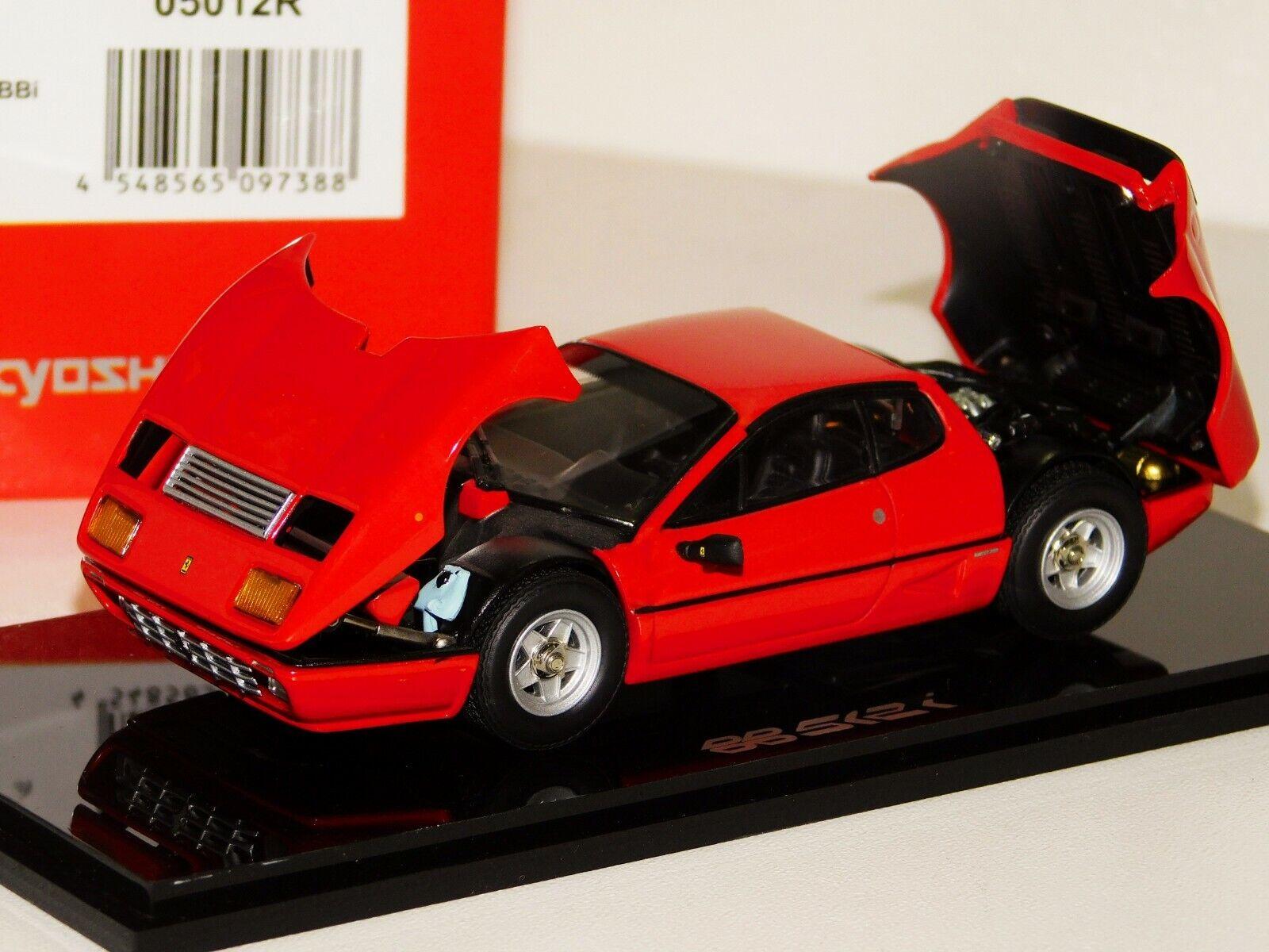 Ferrari 512bbi rojo inauguración kyosho 05012r 1  43