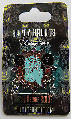 Disneyland Pin - Happy Haunts 2013 - Hitchhiking Ghost Gus - Haunted Mansion