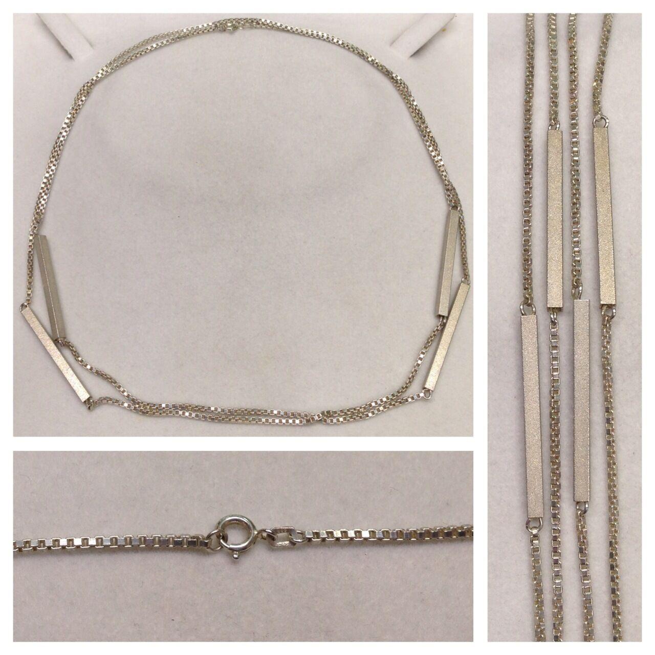 Largo cadena Veneciana 835 silver de Joyería Collar
