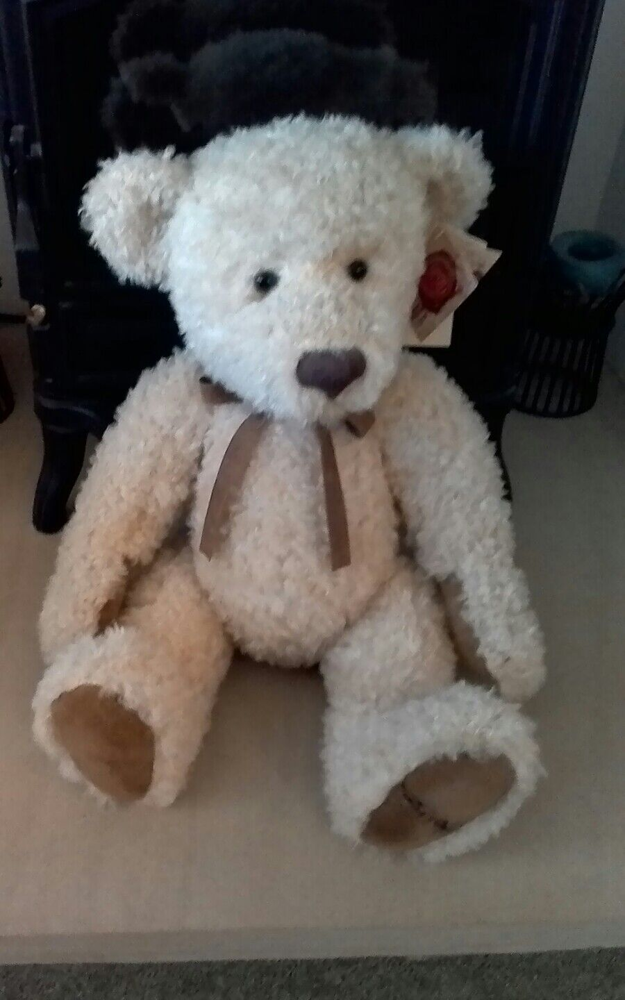 Very Rare RetiROT Limited Edition Russ Berrie Bear Farrington No: LE006