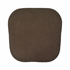 Details about 1 Brown Soft Chair Pad Cushion Non-Slip Kitchen Office Living  Dining Folding
