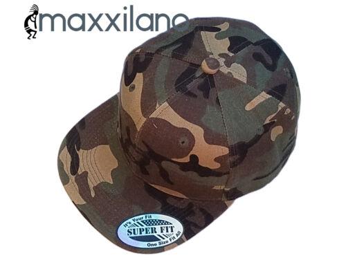 Baseball Cap Mens Plain Solid Blank Snapback Hat New Classic Black Hip Hop Style