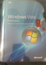 BRAND NEW FACTORY SEALED Windows Vista Business Full Version 32/64 bit versions
