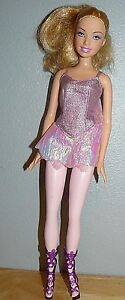 Mattel-Ballerina-Barbie-Doll-in-pink-skin-body