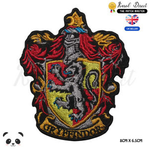 Harry-Potter-Gryffindor-Embroidered-Iron-On-Sew-On-Patch-Badge-For-Shirts