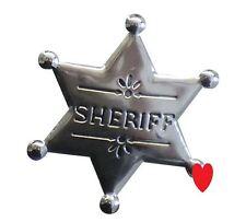 Cowboy sheriff badge sherif marshall