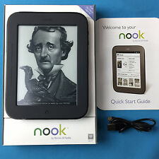 Barnes & Noble NOOK Simple Touch EReader 2GB, Wi-Fi, 6in - Black