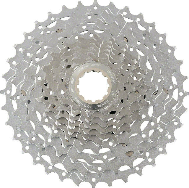 SHIMANO  XT M771 10 SPEED---11-34T MTB MOUNTAIN BICYCLE CASSETTE  incredible discounts