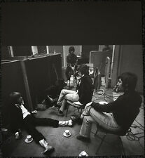 THE ROLLING STONES POSTER PAGE 1967 RECORDING STUDIO . Y25