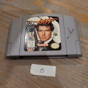 N64 GoldenEye 007 James Bond Nintendo 64 - Genuine Game Cartridge Only - Tested