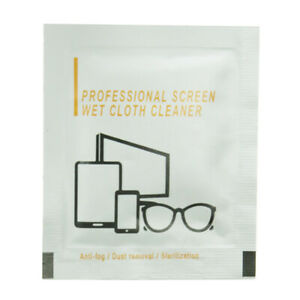 30 x Alcohol Cleaning Wipes for TV Mobile Phone Tablet Lens Glasses Accessories