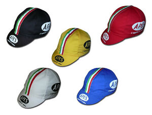 Rennrad-Cycling-Caps-Original-APIS-Caps-in-versch-Farben-Vintage-Caps