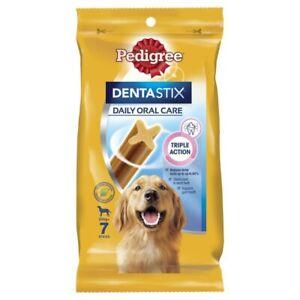 Pedigree Dentastix Large Dog Treats Daily Oral Care Dental Chews 7 pack