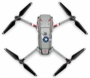 Wrap-Skin-For-DJI-MAVIC-PRO-Quadcopter-Drone-SPITFIRE-GREY