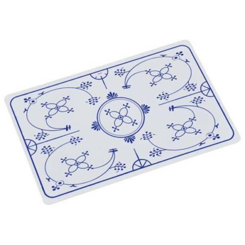 Tischsets INDISCHBLAU Zwiebelmuster weiß blau 43x28cm Kesper 6er Set Platzsets