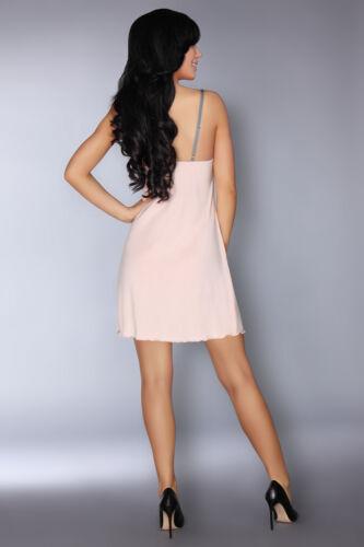Soft Corsetti stringhe coordinati Priita e grigi rosa Chemise Super Luxury per Livco XpwCqp