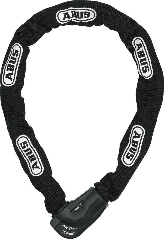 Abus citychain x plus 1060/110 bicicleta-cadenas castillo 110cm 10mm 10mm 10mm Stark, negro f9926a
